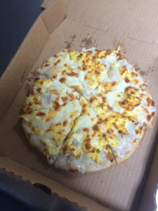 Banana Pepper Pizza