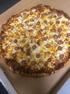 Hot Dog Pizza
